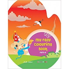My Easy Colouring Book Part-II