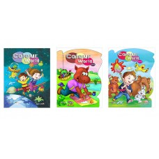 Colour World -I and other Two Colouring Books by M...