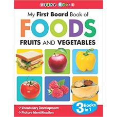 My First Board Book Of Foods,Fruit And Vegetables ...