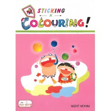 Happy Sticking N Colouring !